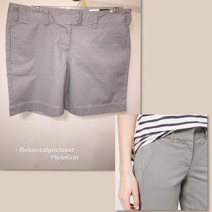 🆕NWT Loft Marisa Fit Khakis Shorts Sz 6